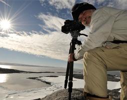 David in Antarctica
